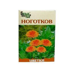 Ноготков цветки, сырье растительное измельченное, 50 г, 1 шт.