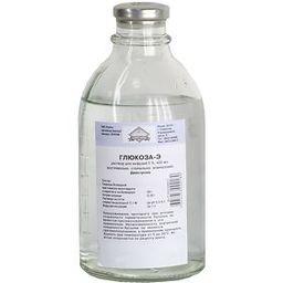 Глюкоза-Э, 5%, раствор для инфузий, 400 мл, 1 шт.