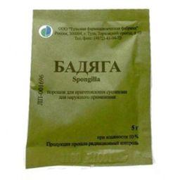 Бадяга, порошок для приготовления суспензии для наружного применения, 5 г, 1 шт.