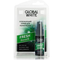 Global White спрей для полости рта освежающий, 15 мл, 1 шт.