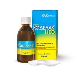 Коделак Нео, 1.5 мг/мл, сироп, 200 мл, 1 шт.