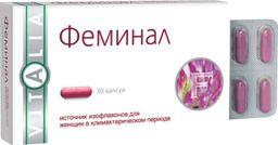 Феминал, 160 мг, капсулы, 30 шт.