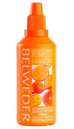 Belweder Жидкость для снятия лака мягкая с маслом сладкого апельсина, жидкость для снятия лака, 60 мл, 1 шт.