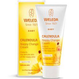 Weleda Крем для защиты кожи в области пеленания с календулой для младенцев, крем, 75 мл, 1 шт.